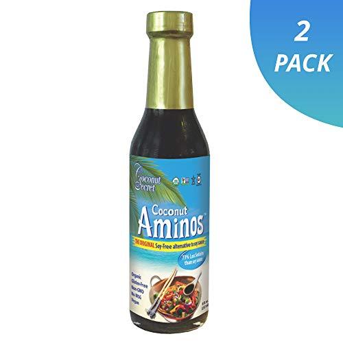 Coconut Secret Coconut Aminos Sauce Organic 8 oz (2 Pack)