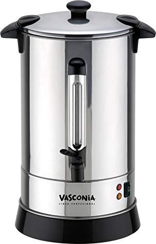Vasconia Cafetera, color Plata, 15 L, 100 Tazas