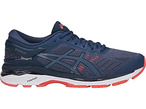 ASICS Men's Gel-Kayano 24 Running Shoes, 13M, Smoke Blue/Smoke Blue/Dark BLU