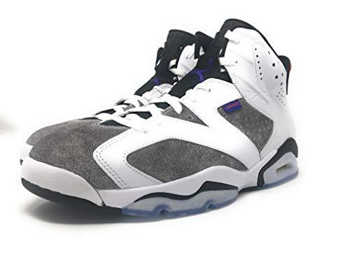 release date 2ebcc 85852 Nike Jordan Men's Retro 6 Leather Basketball Shoes