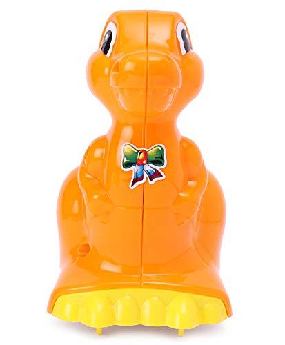 41deS4kQEqL Pretty Child Toys Dinosaur Push & Go Animal Toy for Children / Infants (Orange) - Made in India