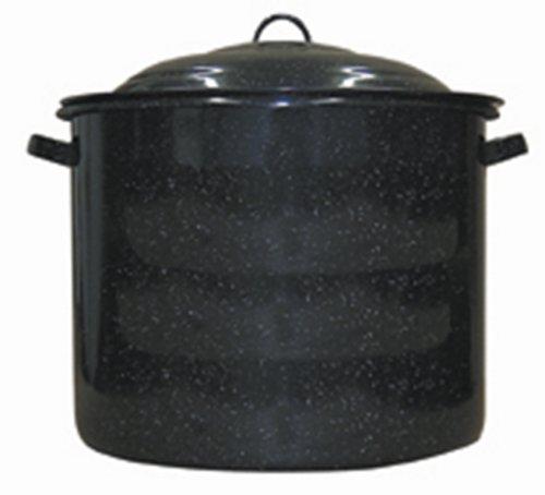 high side enamel pot