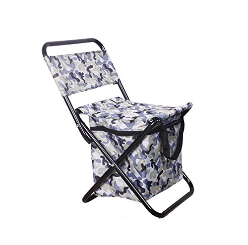 TIANFENG Outdoor Leisure Fishing Chair/Thermal Stool Stool/Folding Beach Chair/Multifunction Convenient Stool/With Ice Pack,#1