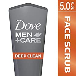 Dove Men+Care Face Scrub, Deep Clean Plus 5 oz  Image