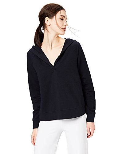 41dkyOPDTVL A clean Henley V-neck and long raglan sleeves add a sporty twist to this relaxed-fit hoodie Terry Cotton and the softest modal are blended to create the perfect rib-knit blend Start every outfit with Daily Ritual's range of elevated basics