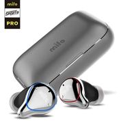 Mifo O5 Balanced Armature Professional Bluetooth Earbuds with 100 Hours Playtime, Pro Headphones, Bluetooth 5 IPX7 Waterproof, Built-in Mic with 2600mAH Portable Charging Case