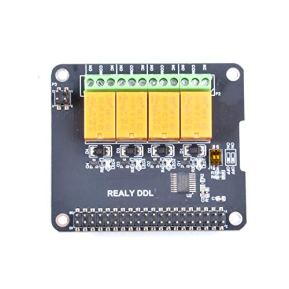 GeeekPi-Raspberry-Pi-Expansion-Board-4-Channel-Relay-Board-Module-Power-Relay-Module-for-Raspberry-Pi-4B-Raspberry-Pi-3-Model-B-Raspberry-Pi-32-Model-B-No-Programming-RequiredProgrammable