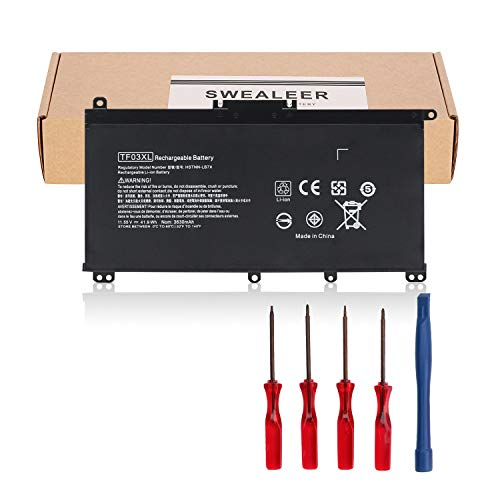 SWEALEER-TF03XL-Laptop-Battery-Compatible-with-HP-Pavilion-15-CC-15-CD-15-cc154cl-15-cc060wm-15-cc152od-15-cc055od-15-cd040wm-17-AR007CA-17-AR050WM-920046-121-421-541-920070-855-HSTNN-IB7Y-TF03XL