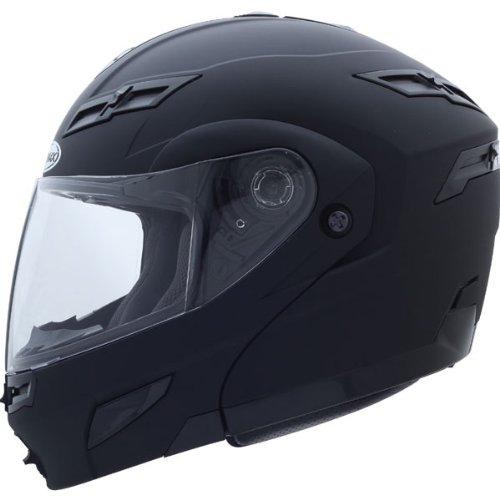 Gmax GM54S Modular Men's On-Road Motorcycle Helmet - Flat Black/Large