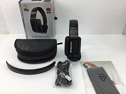 Monster Inspiration Noise-Isolating Black Over-Ear Headphones 'Product Category: Headphones/Over The Head'