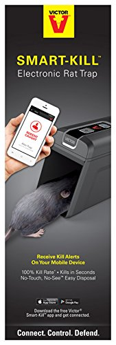 Victor M2 Smart-Kill Wi-Fi Electronic Rat Trap