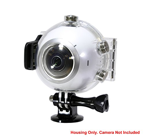 Underwater Housing Case for Samsung Gear 360 Camera (2016 V1 only) – NOT 2017 Version