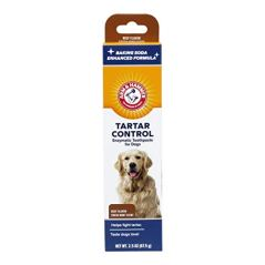 Arm-Hammer-Dog-Dental-Care-Tartar-Control-Enzymatic-Toothpaste-for-Dogs-Reduces-Plaque-Tartar-Buildup-Safe-for-Puppies-25-oz-Beef-Flavor