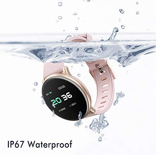 Smart Watch for Android and iOS Phone 2019 Version IP67 Waterproof,UMIDIGI Fitness Tracker Watch with Pedometer Heart Rate Monitor Sleep Tracker,Smartwatch Compatible with iPhone Samsung 7