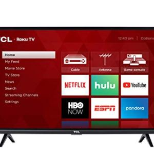 TCL 32-inch 1080p Roku Smart LED TV - 32S327, 2019 Model 9