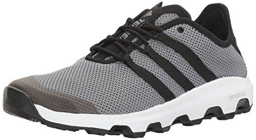 adidas outdoor Men's Terrex Climacool Voyager Water Shoe, Grey/Black/White, 6 M US