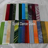 """20 Sheets SPECTRUM Stained Glass 3mm (4"""" x 6"""") Opals Cathedrals Texture"""