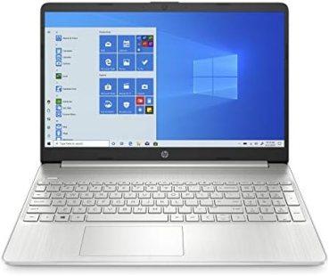 HP 15 Ryzen 5 Processor 15.6-inch(39.6 cm) FHD Laptop (8GB/512GB SSD/Windows 10/Vega 8 Graphics/MS Office/Natural Silver/1.69Kg), 15s-eq0500AU
