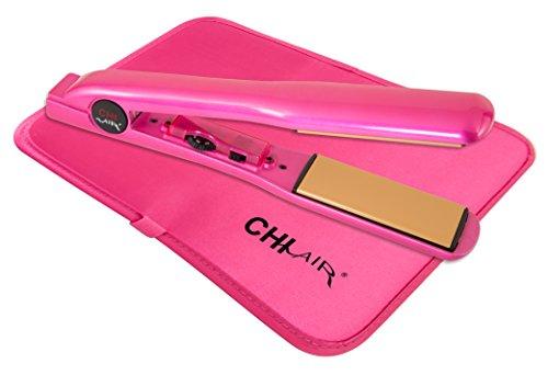 CHI Expert Classic Tourmaline Ceramic Hair Straightening Iron in Pure Pink