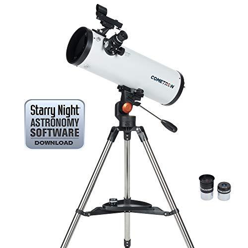Celestron 21079 Cometron 114AZ Telescope (White)