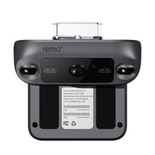 Remo-DoorCam-2-Wireless-Over-The-Door-Smart-Security-Camera-with-1080p-HD-Video-Motion-Sensor-2-Way-Talk-and-Alexa-Enabled-No-Monthly-Fees-Free-Cloud-Storage-Dark-Grey