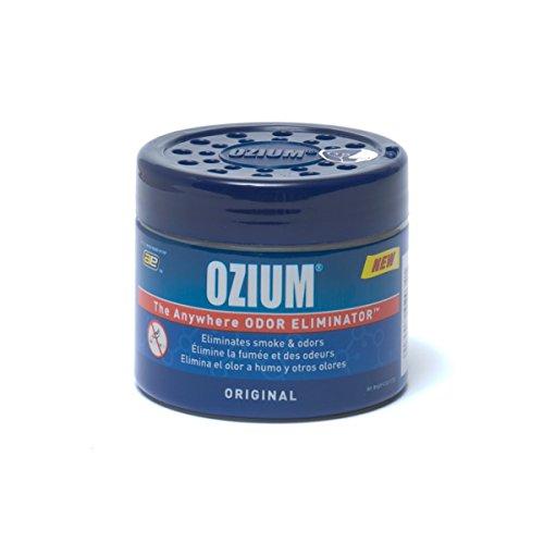 Ozium 804281 Blue Regular (4.5oz) Smoke & Odors Eliminator Gel, Original Scent