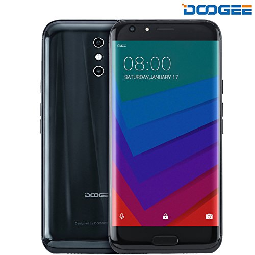 DOOGEE BL5000, Unlocked Phones Dual SIM Smartphone Unlocked Android 7.0 - 5.5'' FHD Screen - MT6750T - 5050mAh Battery - 4GB RAM + 64GB ROM - Dual 13MP Camera - 4G Unlocked Cell Phones - Black