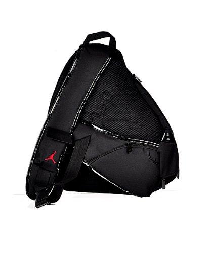 145a9982a8d7f0 nike jordan sling backpack black