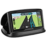 GPS Holder for Car, Cell Phone Holder Car Dashboard,Reusable Silicone Pad Universal Car Mount Cradle Compatible for Garmin GPS, iPhone Xs Mas 8 Plus 7 Plus,Samsung Galaxy S10 S9 S8,3-6.8 inch Phones