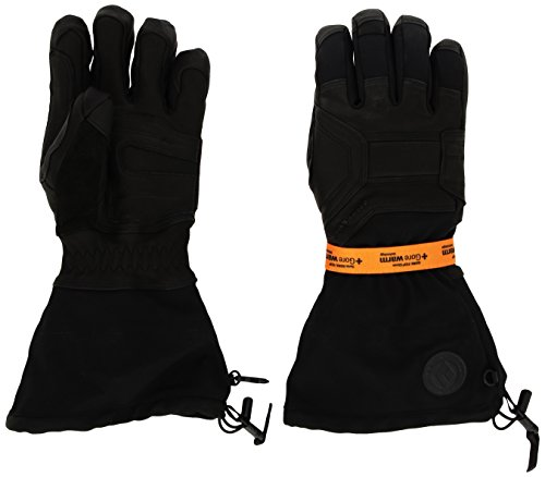 Black Diamond Men's Guide Gloves, Natural, Large