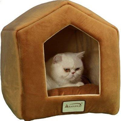 Aeromark International Armarkat Cave Shape Pet Cat Beds for Cats...