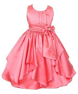 Fairy Dolls Girls' Knee Length Dress.