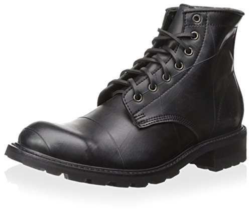 41edvgoOZ7L The Arkansas Rubber Lace Up boot by Frye® offers a sleek, relaxed style that's ideal for a clean, casual look. Recycled rubber upper crafted from reclaimed European tires. Rubber material goes through a rigorous process of collection and cleaning. One of a kind, each pair displays the original markings of the rubber, including oxidization where the metal rims used to be.