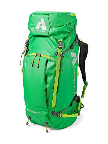 Eddie Bauer Unisex-Adult Terrain 55 Pack, Bright Green Regular ONESZE