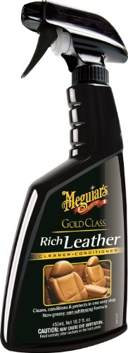 2. Meguiar's Gold Class Rich Leather Cleaner and Conditioner