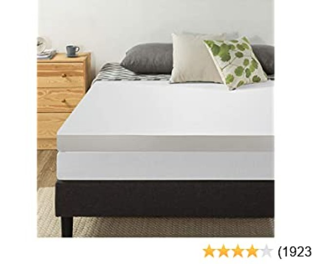 Amazon Com Best Price Mattress  Inch Memory Foam Mattress Topper Queen Kitchen Dining