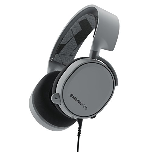 SteelSeries Arctis 3 All-Platform Gaming Headset for PC, Playstation 4, Xbox One, Nintendo Switch, VR, Android and iOS - Slate Grey
