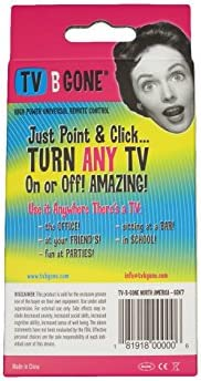 TV-B-Gone Universal TV Power Remote Control Keychain - NA/Asia