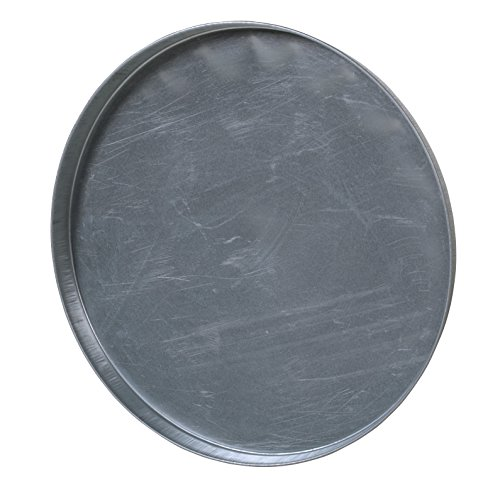 Vestil DC-235 Closed Head Galvanized Steel Drum Cover for use with 55 gallon Drum, 24-1/2' ID