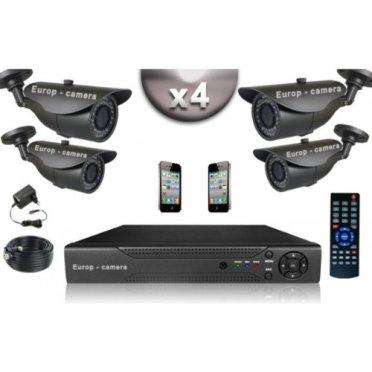 Kit vidéosurveillance Europ camera