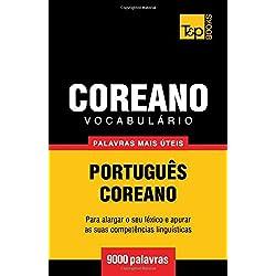 Vocabulário Português-Coreano - 9000 Palavras Mais Úteis