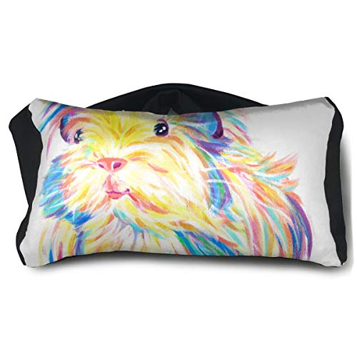 Eye Pillow Colorful Guinea Pig Great Womens Portable Blindfold Sleeping Eye Bag Patch