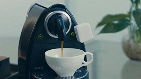 Switch Bot コーヒーメーカーに設置したところ