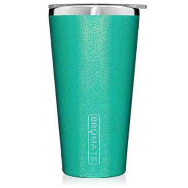 Brumate-Imperial-Pint-20oz-Shatterproof-Double-Wall-Vacuum-Insulated-Stainless-Steel-Travel-Camping-Mug-for-Beer-Cocktails-Coffee-Tea-with-Splash-Proof-Lid-for-Men-Women-Glitter-Peacock