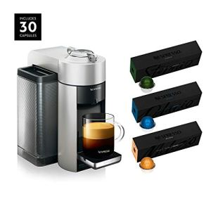Nespresso ENV135S Vertuo Evoluo Coffee and Espresso Machine by De'Longhi, Silver with Nespresso Vertuoline Coffee, Best… 1