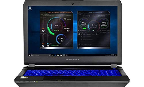 Eluktronics P650HS-G VR Ready 15.6' 120Hz 5ms Gamers Edition Laptop PC - Intel i7-7700HQ Quad Core Windows 10 Home 8GB GDDR5 NVIDIA GeForce GTX 1070 + G-SYNC 256GB SSD + 1TB HDD 16GB DDR4 RAM