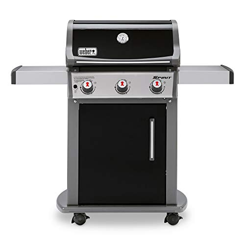 Weber 46510001 Spirit E310 Liquid Propane Gas Grill, Black