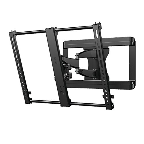 Sanus Premium Full Motion TV Wall Mount Bracket for 37'-50' TVs Features 15º of Tilt, 90º of Swivel, Post Install Centering - VMF620-B1
