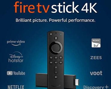 Fire TV Stick 4K with Alexa Voice Remote   Stream in 4K resolution