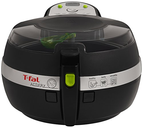 T-fal FZ700251 ActiFry Low-Fat Healthy AirFryer Dishwasher Safe Multi-Cooker, 2.2-Pound, Black
